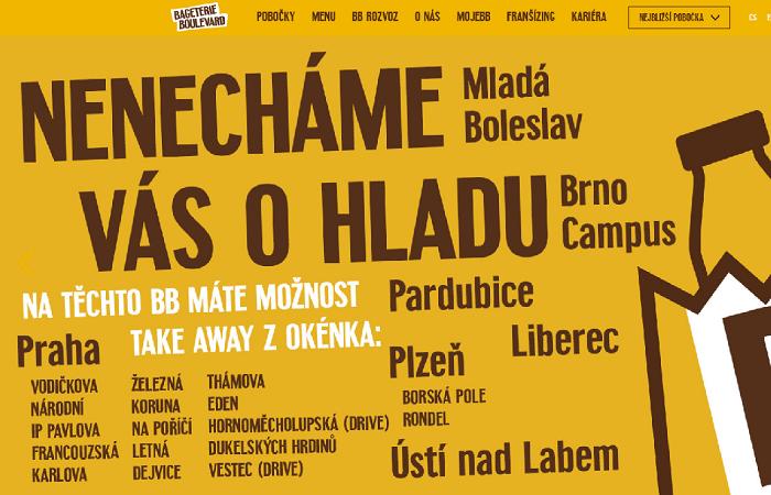 Rozvoz prozatím zahrnuje větší část Prahy, Plzeň a Brno, zdroj: web BB