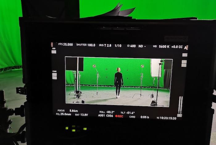 Z natáčení nové reklamy O2, zdroj: O2
