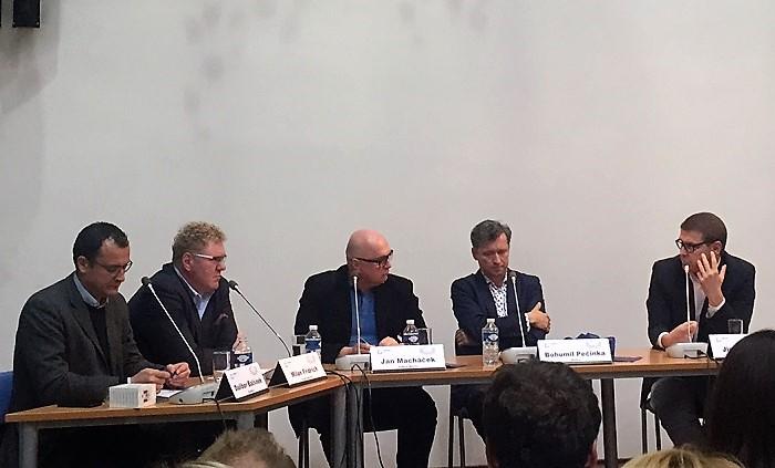 Dalibor Balšínek, Milan Fridrich, Jan Macháček, Bohumil Pečinka a Jindřich Šídlo, foto MediaGuru.cz
