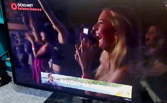 Programatická reklama ve vysílání TV Óčko.