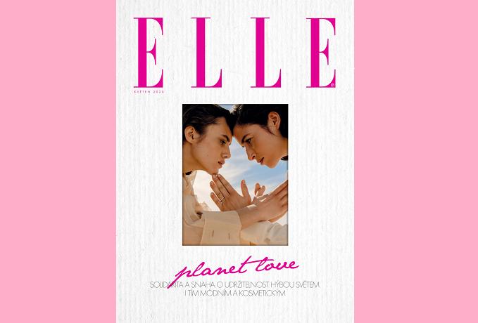 Květnové vydání české edice magazínu Elle, zdroj: Burda International CZ