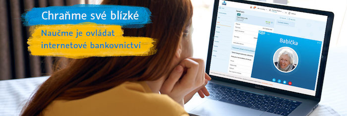 """Z aktuální kampaně """"Chraňme své blízké"""", zdroj: ČSOB"""