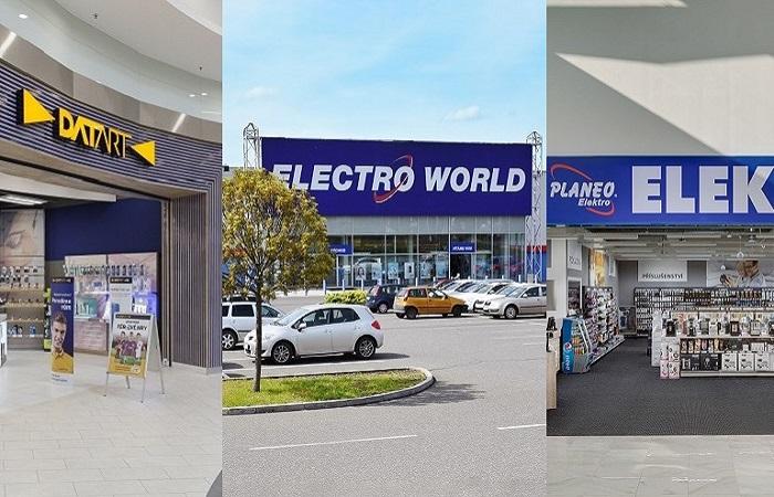 Prodejny se spotřební elektronikou otevírají po více než měsíci, zdroj: Datart, Electro World a Planeo Elektro