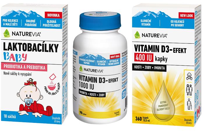 Naturevia prodává přes lékárny okolo 40 produktů, zdroj: Naturevia