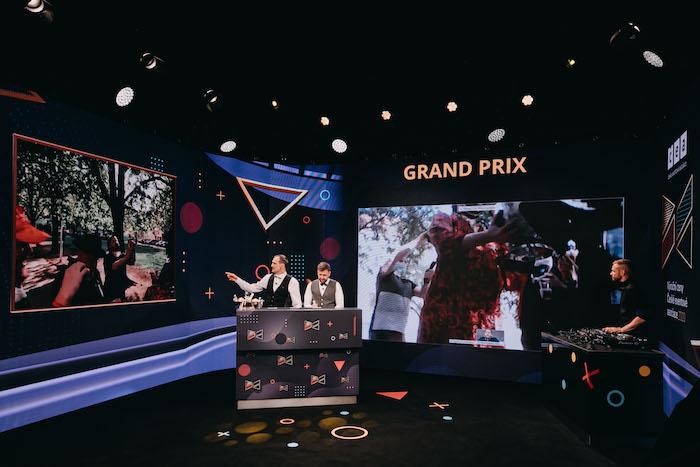Cenu Grand Prix vyhlásil Kapitán Demo s Janem Binarem, foto: Adam Costey.