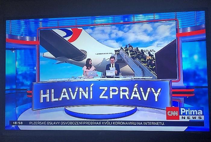 Hlavní zprávy, repro: CNN Prima News