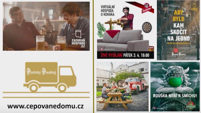 Přehled aktivit jednotlivých pivních značek Plzeňského Prazdroje za pandemie, foto: MediaGuru.cz