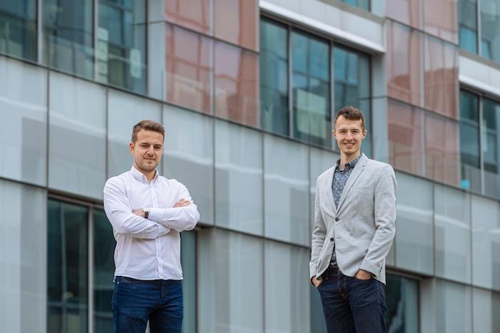 David Procházka, zakladatel platformy Donio, a Tomáš Hodboď z Mitonu, zdroj: Miton