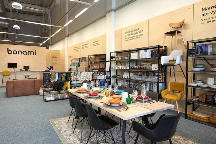 Prodejní plochu sdílí se společností Prospánek, zdroj: Bonami.