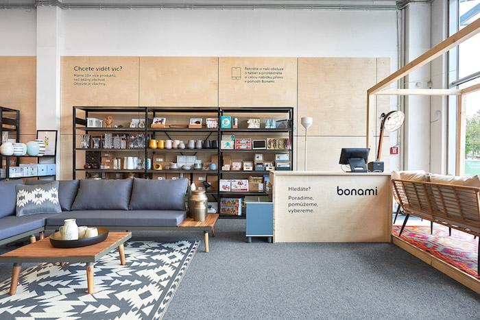 Bonami chce v kamenné prodejně představit část svého sortimentu, zdroj: Bonami.