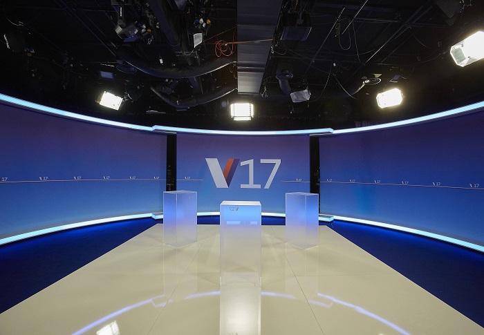Studio por vysílání pořadu Nova Duel, foto: TV Nova