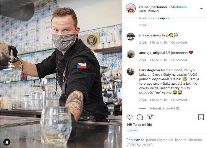 """Kampaň """"Zachraň hospodu"""" rezonovala hodně na sociálních sítích, zde restaurace Lokál, zdroj: WeDigital"""
