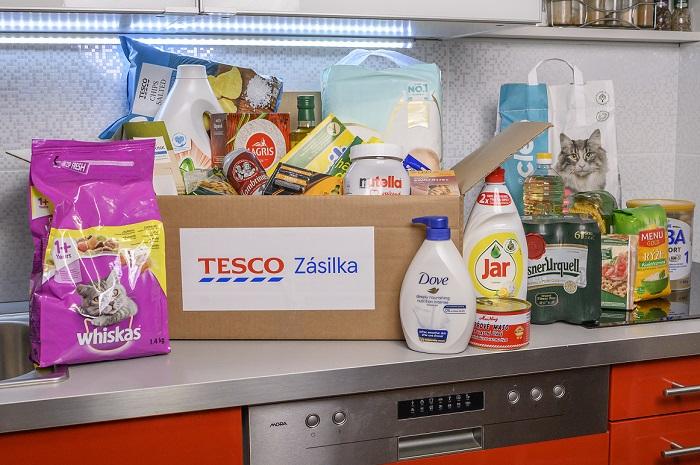 Až tisíc produktů nabízí nová rozšířená služba online nákupů Tesco, zdroj: Tesco ČR