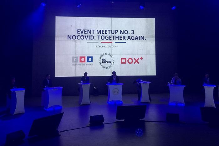 Z Event MeetUpu na téma Nocovid, foto: MediaGuru