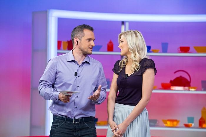 Manželé Hejdovi v pořadu Snídaně s Novou, foto: TV Nova