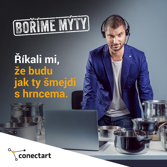 Další z vizuálů kampaně Conectartu, zdroj: Conectart