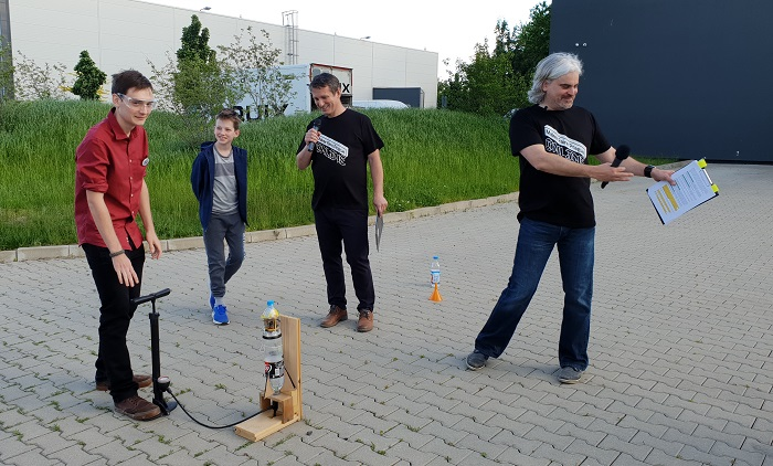 Natáčení festivalu Maker Faire 2020, zdroj: Taktiq Communications