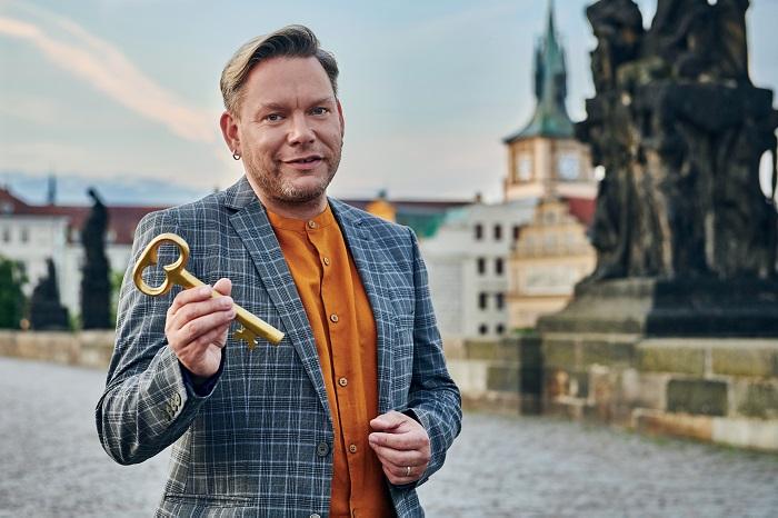 Matěj Rupert v kampani V Praze jako doma, foto: Julie Vrabelová