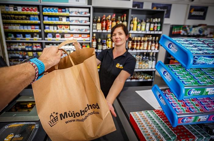 V prodejně Můj obchod si mohou zákazníci vyzvednout i své online objednávky, zdroj: Makro Cash & Carry ČR.
