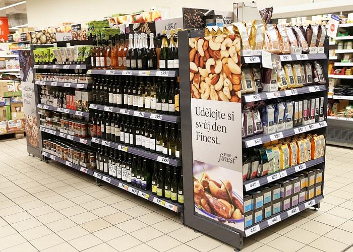 Produkty Finest jsou nově v hlavní uličce 86 hypermarketů Tesco, zdroj: Tesco