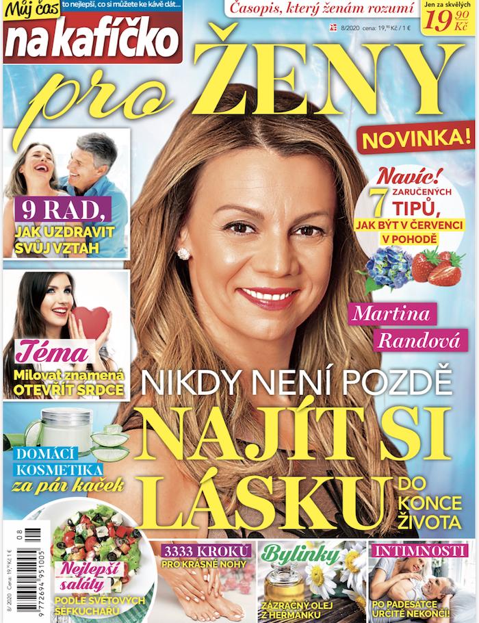 Titulka nového časopisu Můj čas na kafíčko pro ženy, zdroj: RF Hobby