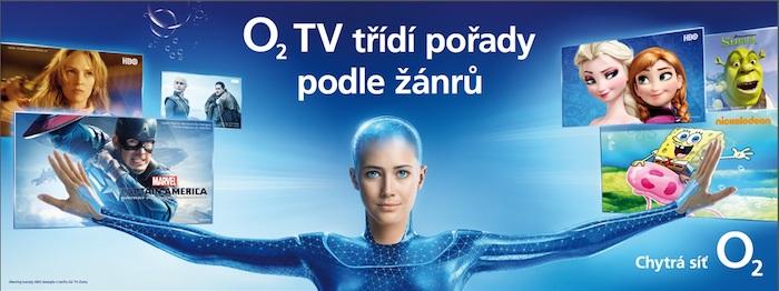 Příklad venkovní reklamy, zdroj: O2