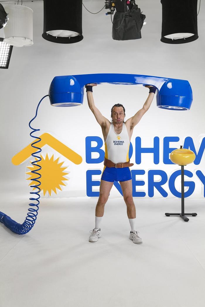Z nové kampaně Bohemia Energy, zdroj: Bohemia Energy