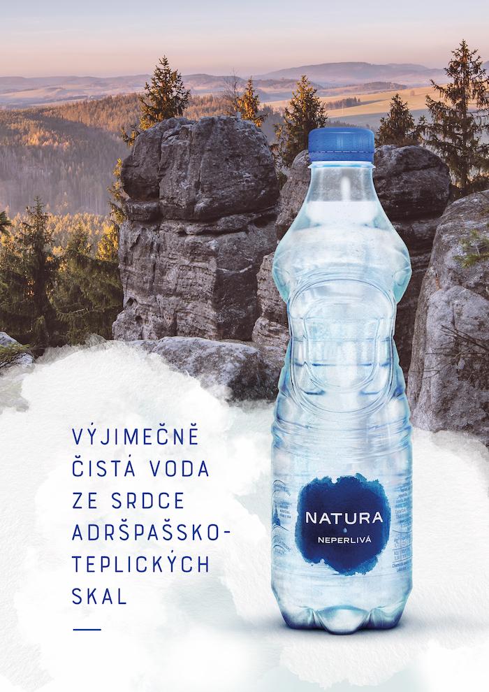 Klíčový vizuál ke kampani značky Natura, zdroj: Coca-Cola HBC