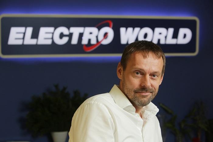 Roman Kocourek působí v Electro Worldu od roku 2014, zdroj: Electro World.