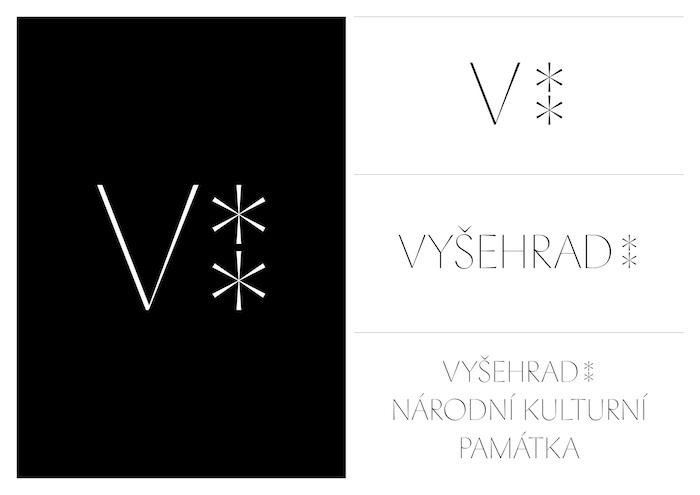 Nová vizuální identita Vyšehradu, zdroj: Czechdesign