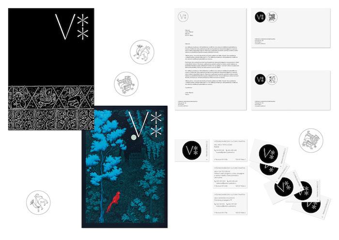 Nová vizuální identita pracuje s literou V a dvojtečkou, zdroj: Czechdesign.