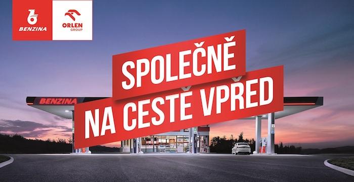 Klíčový vizuál k nové kampani společností Benzina a Orlen, zdroj: Unipetrol