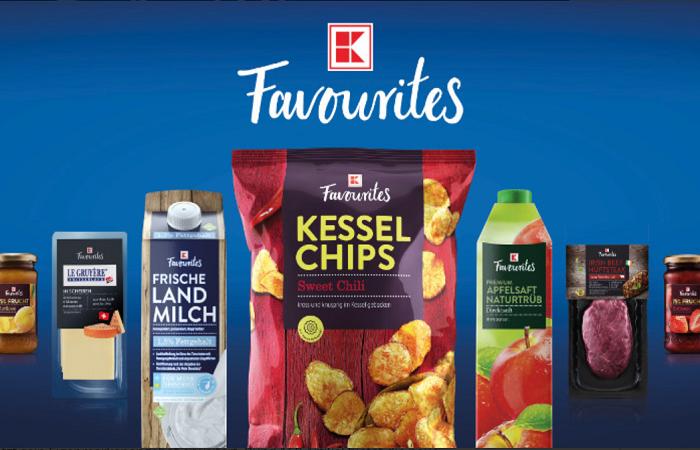 Pod značkou K-Favourites nabízí řetězec zhruba 150 produktů, zdroj: Kaufland.de