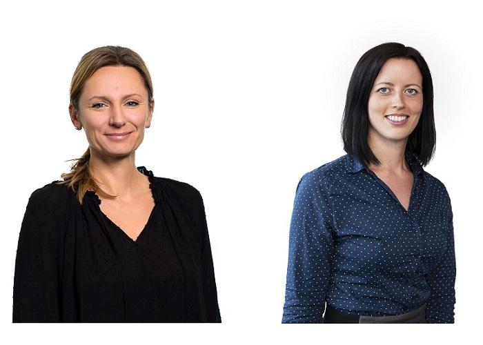 Zuzana Holá (vlevo) odchází a nahradí ji Iveta Barabášová, zdroj: Lidl ČR
