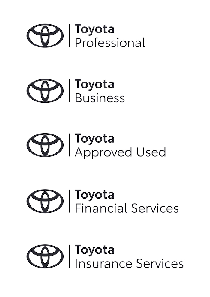 Nové logo i písmo značky Toyota, zdroj: Toyota