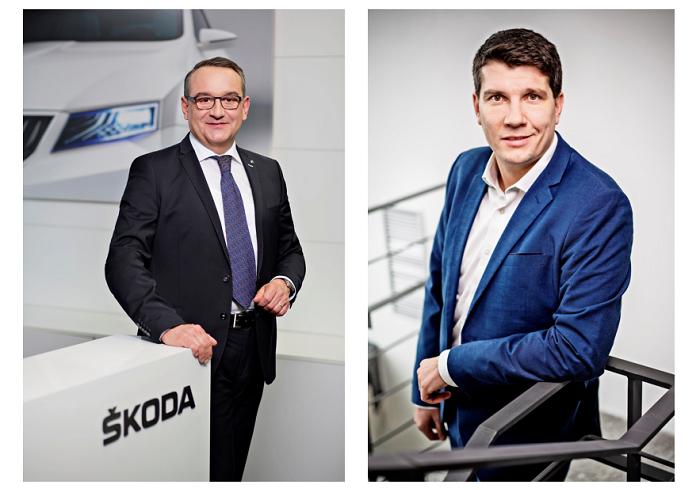 Luboš Vlček & Jiří Maláček, zdroj: Škoda Auto