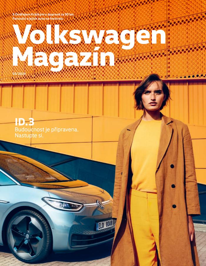 Volkswagen Magazín –1. místo v kategorii B2C časopisů