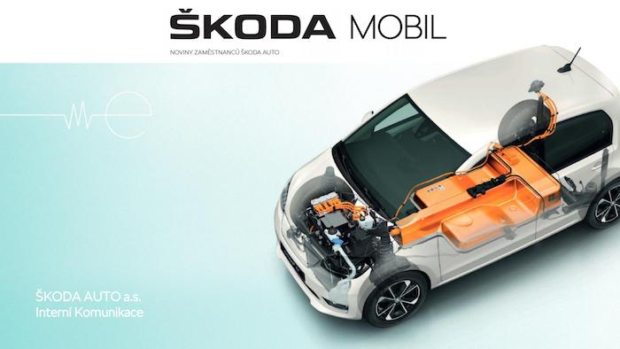 Škoda Mobil –1. místo v kategorii B2E novin