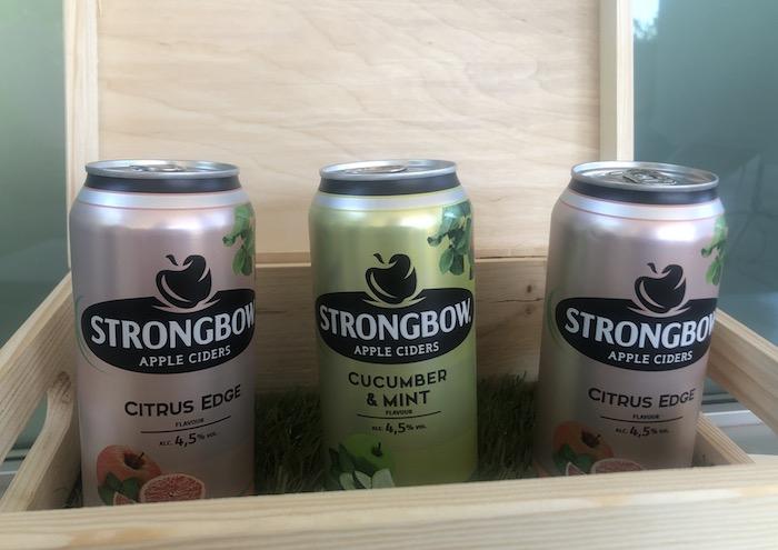 Strongbow uvádí dvě nové příchutě – Cucumber & Mint a Citrus Edge, foto: MediaGuru.