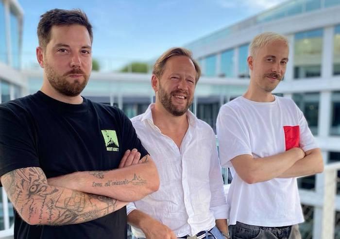 Hostem červnové AdParády byl i Jiří Rákosník (uprostřed), zdroj: ADC