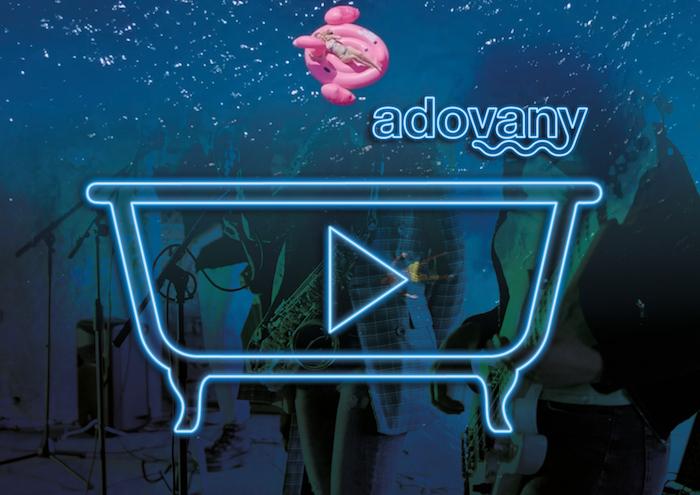 Logo Adovany spojuje moře možností: vanu, vodu, hudbu, zábavu, zdroj: Adovany.