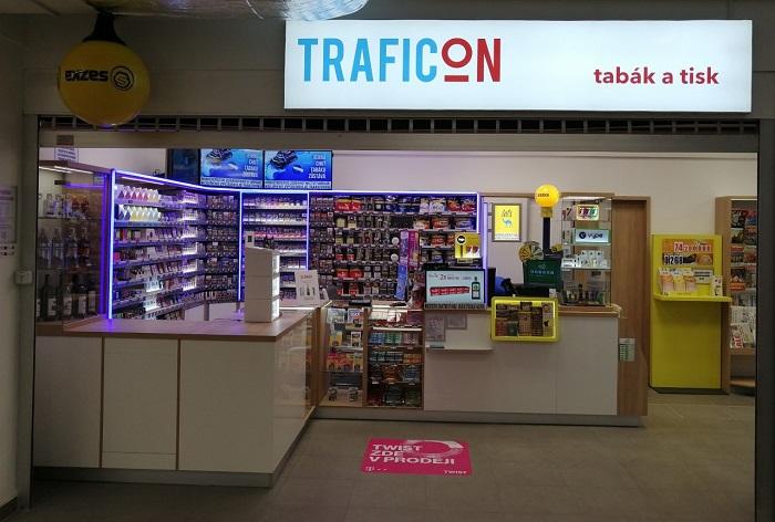 Nová prodejna Traficonu v Praze na Budějovické, zdroj: Traficon