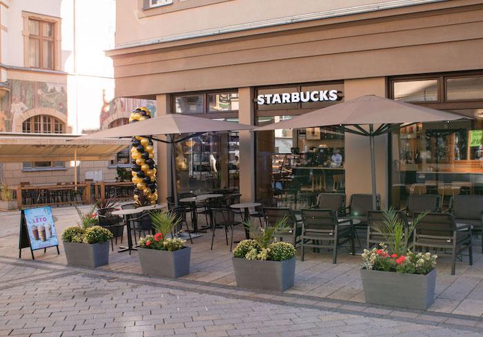 V Karlových Varech otevřel Starbucks svou 51. pobočku v České republice, zdroj: AmRest.