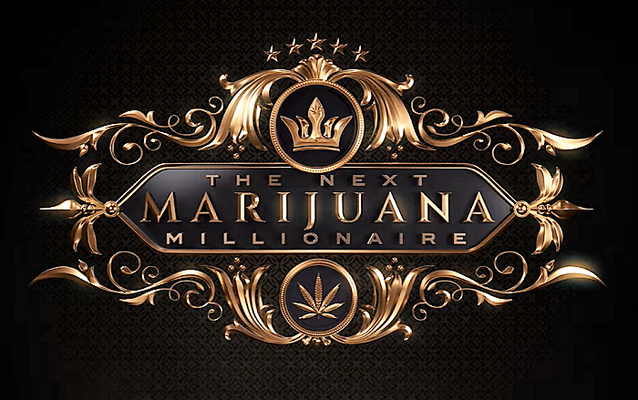 Logo nové reality show The Next Marijuana Millionaire