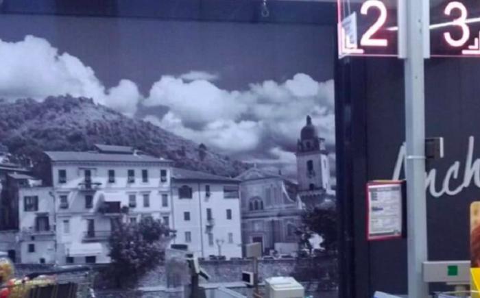 Kostel Sant'Antonio Abate bez kříže v italském Lidlu