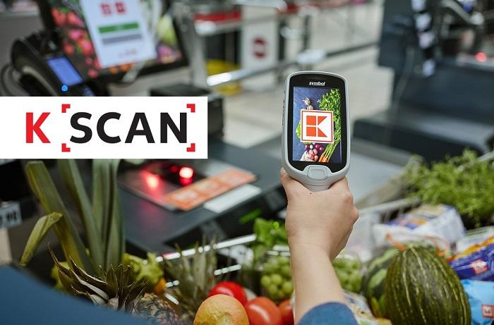 Kaufland testuje skenery od srpna 2019 v Praze na Vypichu a postupně je rozšířil na další tři pobočky, zdroj: Kaufland