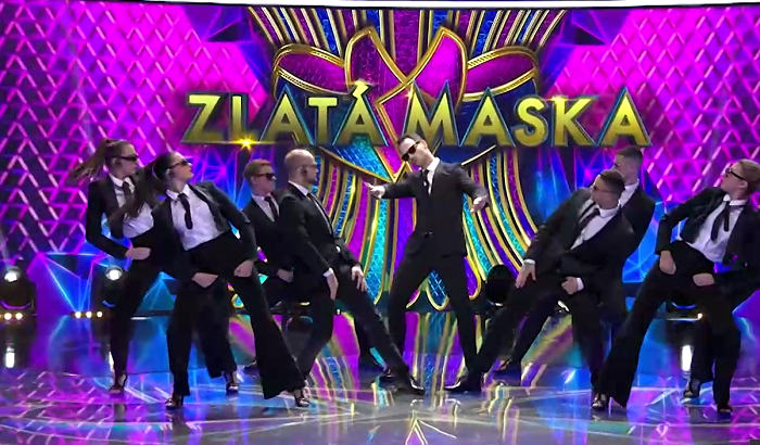 Zlatá maska, zdroj: TV Joj
