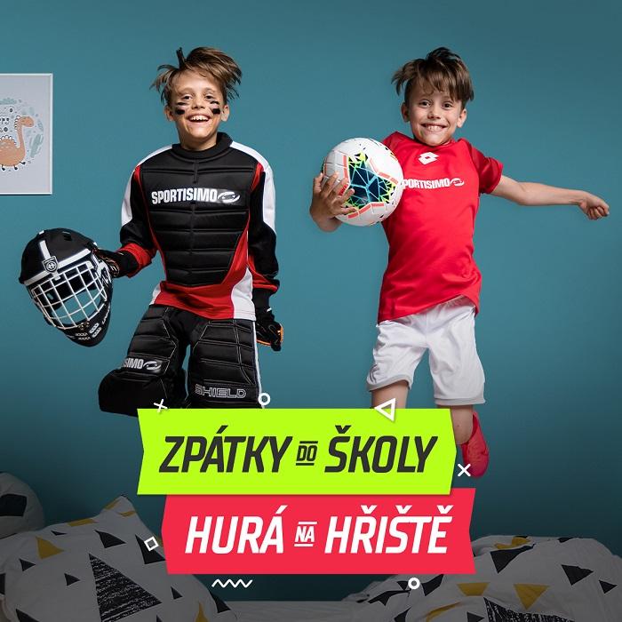 Klíčový vizuál kampaně, zdroj: Sportisimo