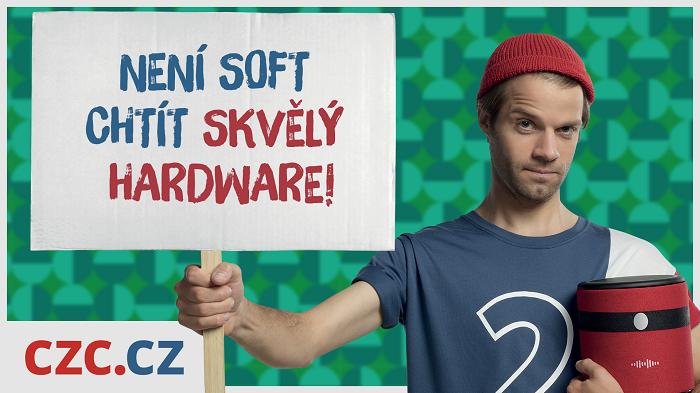 Klíčový vizuál k aktuální kampani CZC.cz, zdroj: CZC.cz