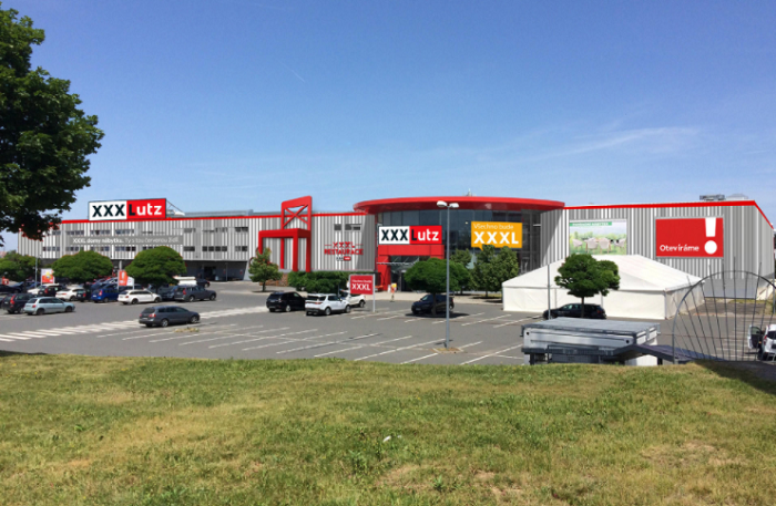 Prodejna v Čestlicích je jedna ze sedmi bývalých Kika, která je nyní přestavena na XXXLutz, zdroj: XXXLutz